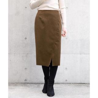 ストロベリーフィールズ(STRAWBERRY-FIELDS)のストロベリーフィールズ YDスウェード スカート(ひざ丈スカート)