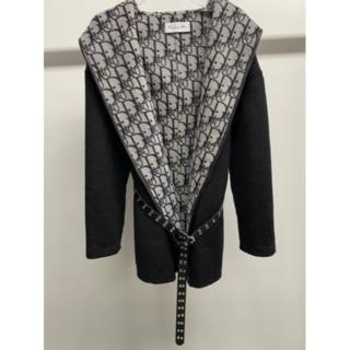 Dior - CDの襟巻き、コートのカシミア