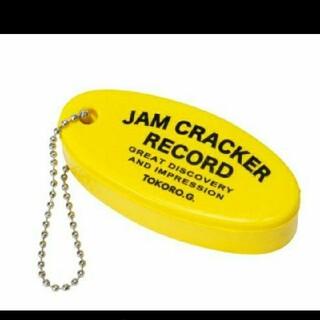 トイズマッコイ(TOYS McCOY)の世田谷ベース オフィシャル キーホルダー JAM CRACKER RECORD2(キーホルダー)