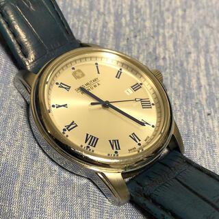 SWISS MILITARY - SWISS MILITARY 腕時計 シルバー/ブルー ML-380