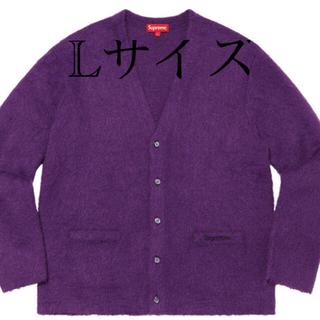 シュプリーム(Supreme)のsupreme Brushed Mohair Cardigan(カーディガン)