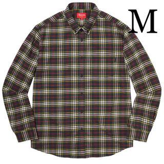 シュプリーム(Supreme)のM Supreme Tartan Flannel Shirt フランネル シャツ(シャツ)
