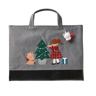 familiar - ファミリア クリスマス限定 デニムバッグ