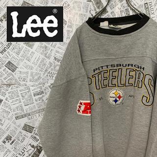 リー(Lee)の90s リー LEE スウェット トレーナー NFL 刺繍ロゴワッペン(スウェット)