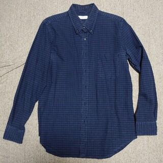 トゥモローランド(TOMORROWLAND)のTOMORROWLAND トゥモローランド シャツ|ブルー×ブラック サイズXL(シャツ)