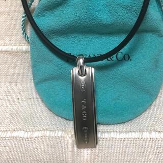 Tiffany & Co. - Tiffany(ティファニー) 1837 チタンシルバーネックレス 925Ti