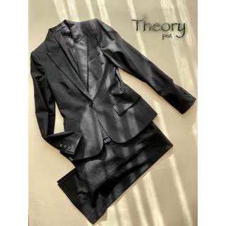 セオリー(theory)の新品同様 Theory セオリー 約6,7万 セットアップスーツ 2号 0号(スーツ)