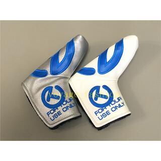 スコッティキャメロン(Scotty Cameron)のパターカバースコッティキャメロンツアーツアー支給2個セット磁石タイプ開閉 青T-(その他)