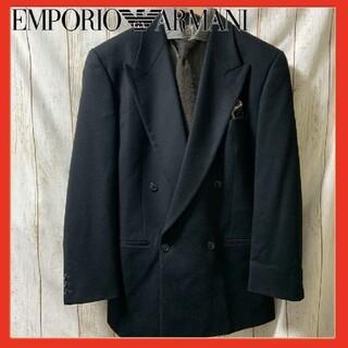 エンポリオアルマーニ(Emporio Armani)のエンポリオアルマーニ ダブルジャケット カシミヤ ウール アルマーニ(テーラードジャケット)