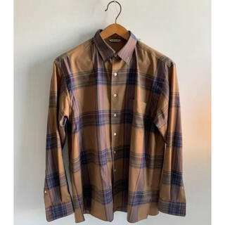 COMOLI - AURALEE SUPER LIGHT WOOL CHECK SHIRT