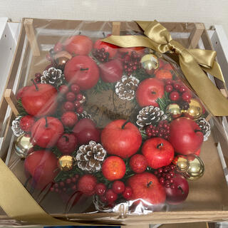 アフタヌーンティー(AfternoonTea)のアフタヌーンティー クリスマス アップル リース(その他)
