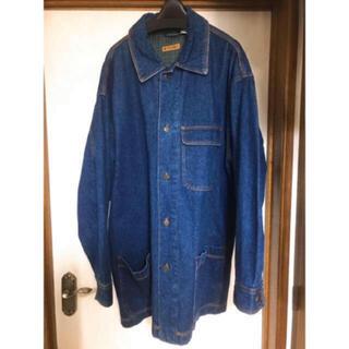 フリークスストア(FREAK'S STORE)の【USED】vintage オーバーサイズ デニム コート(ステンカラーコート)