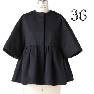 Drawer - 定価以下 今季新作 Drawer コート グログランショートスリーブ ジャケット