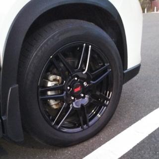 スバル(スバル)の【フォレスター・SK】STI 18インチホイール&スタットレスタイヤ(タイヤ・ホイールセット)
