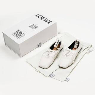 ロエベ(LOEWE)のLOEWE ロエベ Derby ソフトダービーフラットシューズ 38(ローファー/革靴)