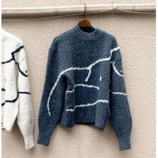 エディットフォールル(EDIT.FOR LULU)の希少品 paloma wool パロマウール Palmira ニット Mサイズ(ニット/セーター)
