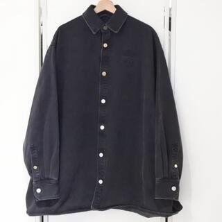 ラフシモンズ(RAF SIMONS)のラフシモンズ 19AW メンズ オーバーサイズ デニムシャツ ジャケット S(シャツ)