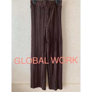 GLOBAL WORK - グローバルワーク ランダムプリーツイージーパンツ