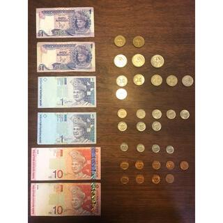 マレーシア 紙幣&コインセット(貨幣)
