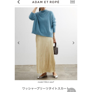 Adam et Rope' - アダム エ ロペ Adam et Rope プリーツスカート