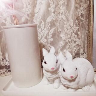 アッシュペーフランス(H.P.FRANCE)のWhite Bunny (置物)