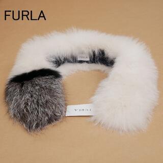 フルラ(Furla)の美品 FURLA フルラ saga furs ファー(マフラー/ショール)