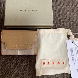 マルニ(Marni)の【新品未使用】MARNI 三つ折り財布(財布)