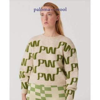 エディットフォールル(EDIT.FOR LULU)の希少品 paloma wool パロマウール Windows ニット Mサイズ(ニット/セーター)
