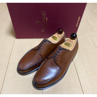 オールデン(Alden)の【新品】VASS 39.5 Uチップ  ブラウン UK6 US6.5相当(ドレス/ビジネス)
