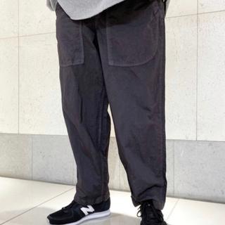 ニコアンド(niko and...)のミリタリーワイドパンツ モールツイードシャツ(ワークパンツ/カーゴパンツ)