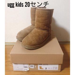 アグ(UGG)のUGG KISSブーツクラッシック 20センチ(ブーツ)