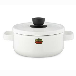 フジホーロー(富士ホーロー)の【新品】honey ware ホーロー鍋(鍋/フライパン)