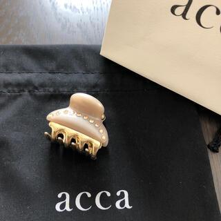 acca - アッカ  小クリップ ティアラクイーン  ベージュ