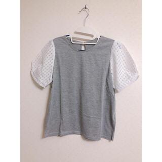 ヴィス(ViS)のレース袖Tシャツ(Tシャツ(半袖/袖なし))