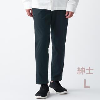 ムジルシリョウヒン(MUJI (無印良品))の無印良品   ストレッチ起毛テーパードパンツ  紳士L・黒 (ワークパンツ/カーゴパンツ)