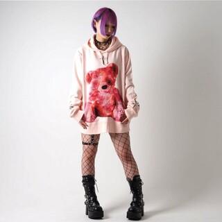 ハニーシナモン(Honey Cinnamon)のTRAVAS TOKYO FURRY BEAR プルオーバー(パーカー)