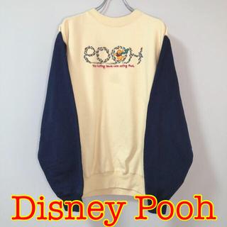 クマノプーサン(くまのプーさん)のUSA古着 ディズニー プーさん Pooh スウェット トレーナー(スウェット)