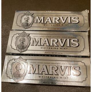 マービス(MARVIS)のmarvis ホワイトミント(歯磨き粉)