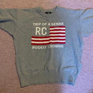 ロデオクラウンズ(RODEO CROWNS)のロデオクラウンズ ニット ロゴ(ニット/セーター)