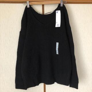 ジーユー(GU)のGU♡新品♡Vネックボリュームセーター(ニット/セーター)