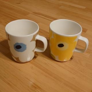 marimekko - marimekko マリメッコ マグカップ 2種セット
