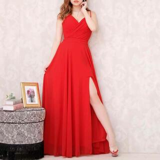 デイジーストア(dazzy store)のDazzy Red スリット入りロングドレス(ロングドレス)