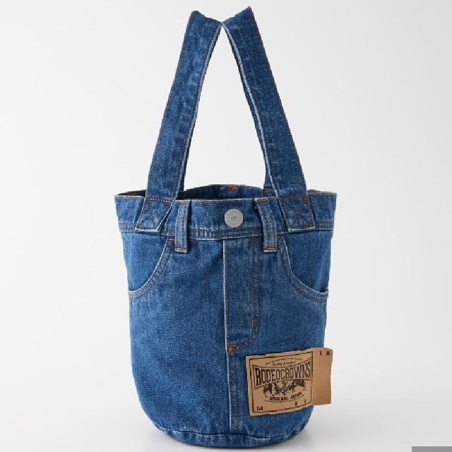 RODEO CROWNS WIDE BOWL(ロデオクラウンズワイドボウル)のブルー レディースのバッグ(その他)の商品写真