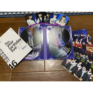 ノギザカフォーティーシックス(乃木坂46)の乃木坂46 5thberth day Live(Blu-ray)(ミュージック)