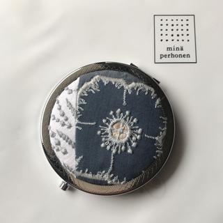 ミナペルホネン(mina perhonen)のミナペルホネン ⭐anemone × tanpopo ⭐コンパクトミラー  (ミラー)
