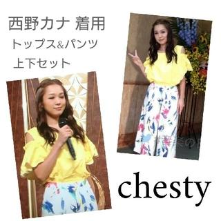 チェスティ(Chesty)のChesty 西野カナ着用 上下セット コスプレ(セット/コーデ)