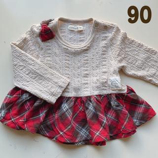 フタフタ(futafuta)のconoco  チュニック 90(Tシャツ/カットソー)