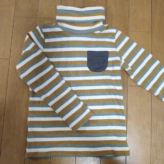 サマンサモスモス(SM2)のSM2★タートルネック★110(グリーン系)(Tシャツ/カットソー)