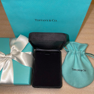 Tiffany & Co. - 未使用 ティファニー ネックレスケース ボックス アクセサリー 空箱 巾着 紙袋