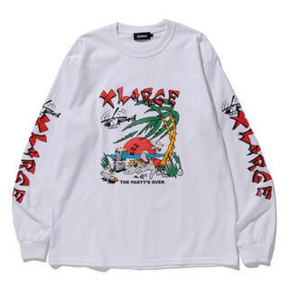 エクストララージ(XLARGE)の本日限定価格!XLARGE L/S TEE IN THE PARTYS OVER(Tシャツ/カットソー(七分/長袖))